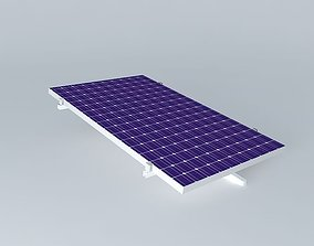 3D model Photovoltaic plate
