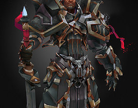 Warrior 3D model low-poly