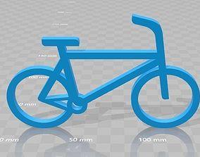 bike 3d printable gift simple custom