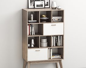 3D Cabinet - shelving Khorten by Hoff