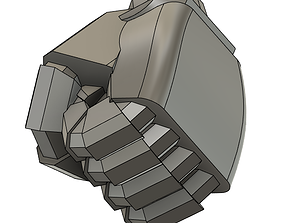 two type super robot fist 3d printing model