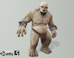 3D asset animated Troll