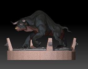 Minotaur 3D model monster