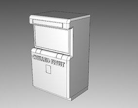 Retro Vending Machine 3D print model