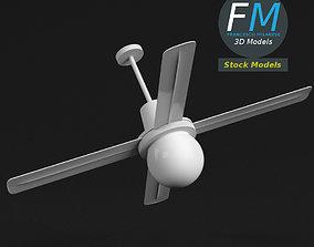 3D model Ceiling fan 2