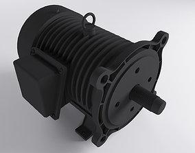 3D asset AC Motor