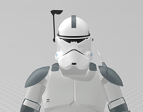 Star Wars Clone Commander Wolffe Full 3D printable model