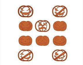 3D print model Cookie cutter pack - Helloween