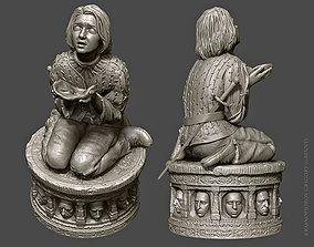 Arya Stark 3D print model