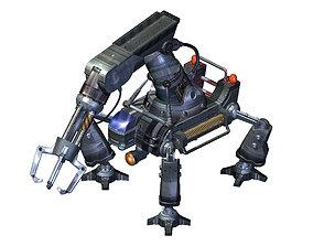 3D Robot-mechanical arm 01