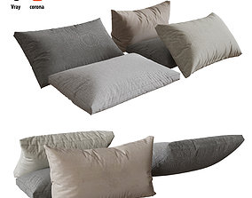 Pillows set 04 3D