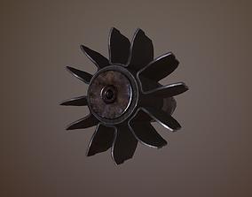 Mine Fragment 3D asset