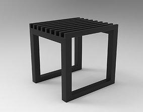 3D asset Cutter Stool