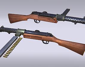 3D asset Sub Machine Gun - Mk1