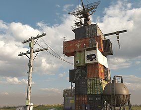3D model House of containers
