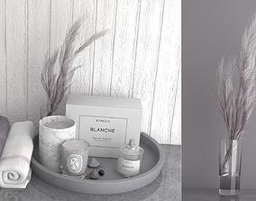 3D Lilac Decorative Set