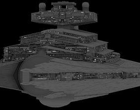 Imperial Star Destroyers set 2 3D