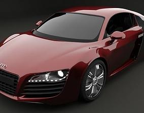 Audi R8 3D model car
