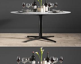 3D Graceland Dinning Table Lemamobili