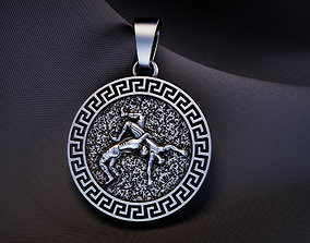 pendant sport fight for 3D printing