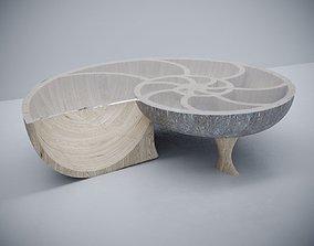 3D model Nautilus coffee table