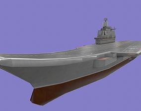 Admiral Kuznetsov aircraft carrier 3D model
