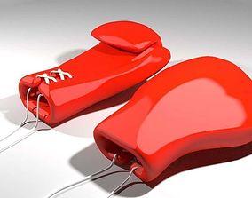 Sport Gloves - Boxing 3D model