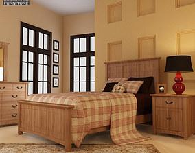 Bedroom Furniture 23 Set 3D asset