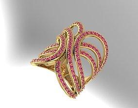 Nice Ring rings 3D printable model