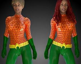 3D model AquaWoman