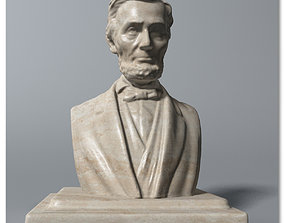 3D Abraham Lincoln Bust