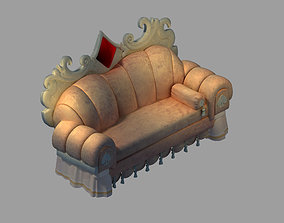 3D Dynasty Furniture - Sofa 03