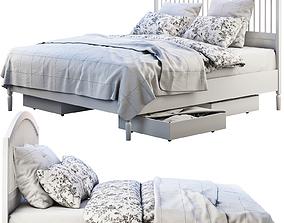3D model Ikea Tyssedal bed