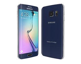 3D model Samsung Galaxy S6 Edge small