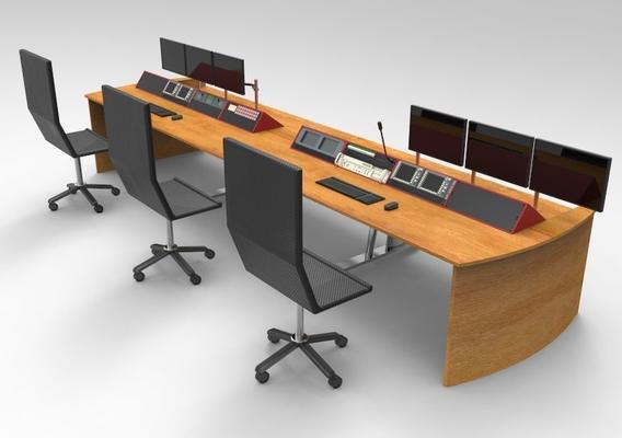 Studio Desk 8 Bay