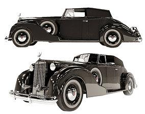 3D Packard twelve victoria