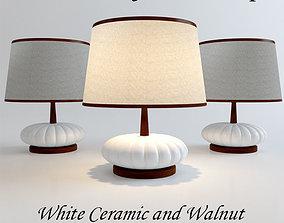 3D Mid Century Modern Table Lamp