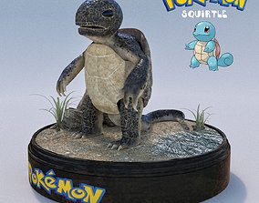 SQUIRTLE the Pokemon 3D