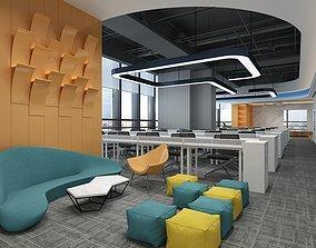 3D model Public Office Area Interior 1