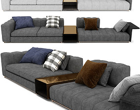 3D model Freeman Sofa By Minotti