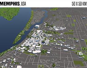 3D model Memphis