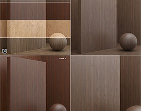 3D model Materials seamless wood veneer plywood