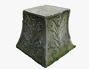 Medieval Stone 3D model low-poly