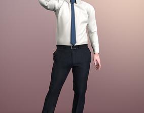 3D asset Tony 20377-04 - Animated Talking Business Man
