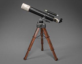 3D asset VR / AR ready slr Telescope