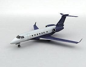 3D asset Embraer Legacy 500 Aircraft