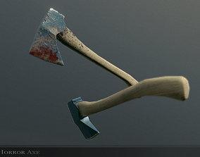3D model Horror Axe