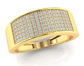 3D print model brilliant Custome Mens Ring