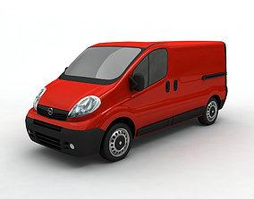 2007 Vivaro Utility Van 3D model