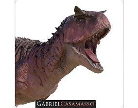 Carnotaurus Sastrei Static 3D model